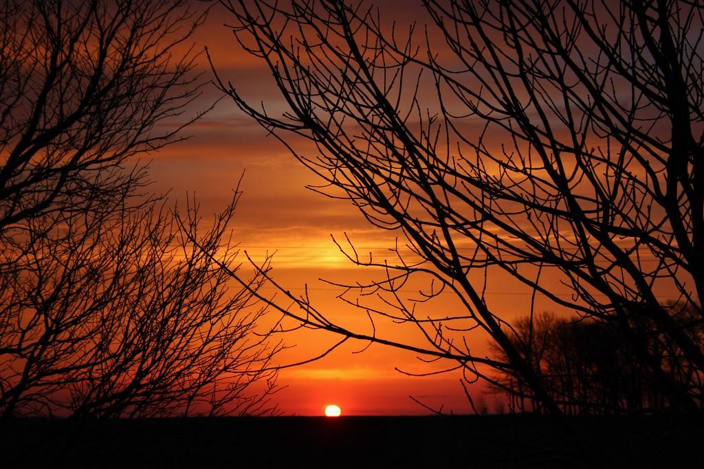 Early Morning Sky by bjchipman