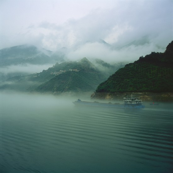 Yangtze mists IX by peterdegraaff