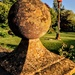 Stone ball and maypole