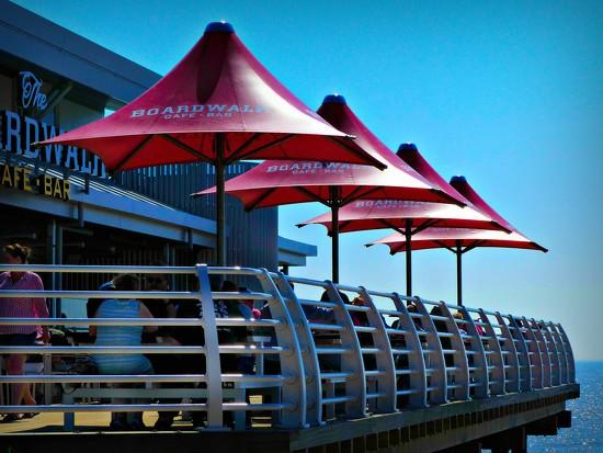 Boardwalk Cafe by judithdeacon