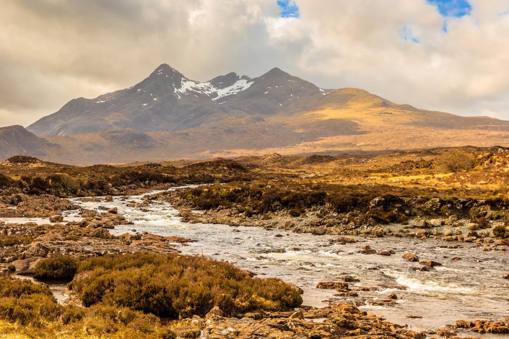 Skye Cuillin Range by padlock