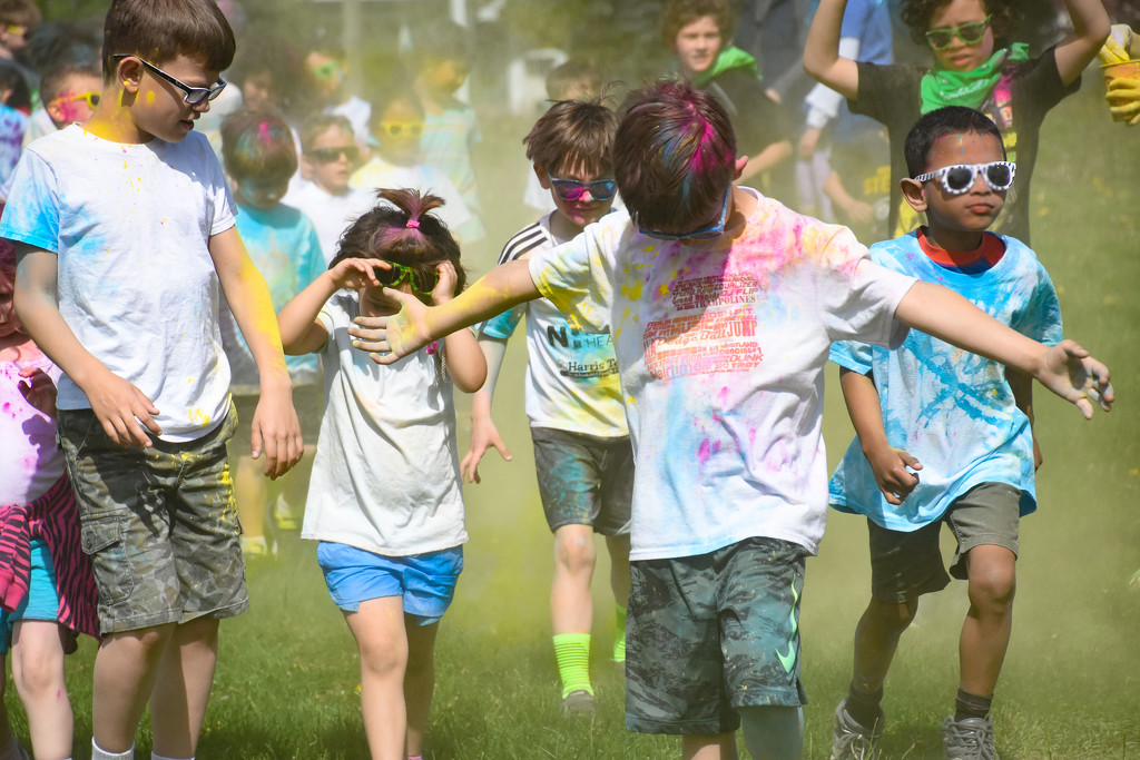Color Fun Run by vera365