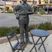 Waiter Sculpture