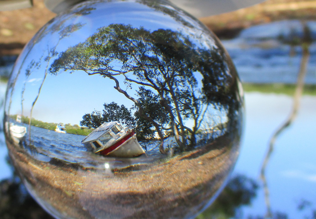 Finally made it!!  Boat in the ball by 777margo