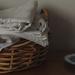 Linen in basket