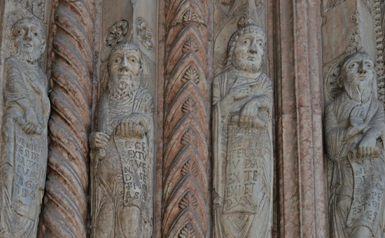 The four Evangelists  A.D.1330  by caterina