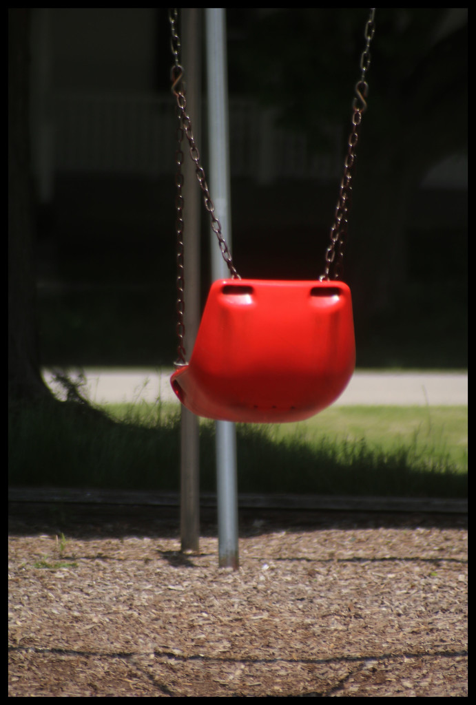 Lonely Swing with no children playing by ladykassy46