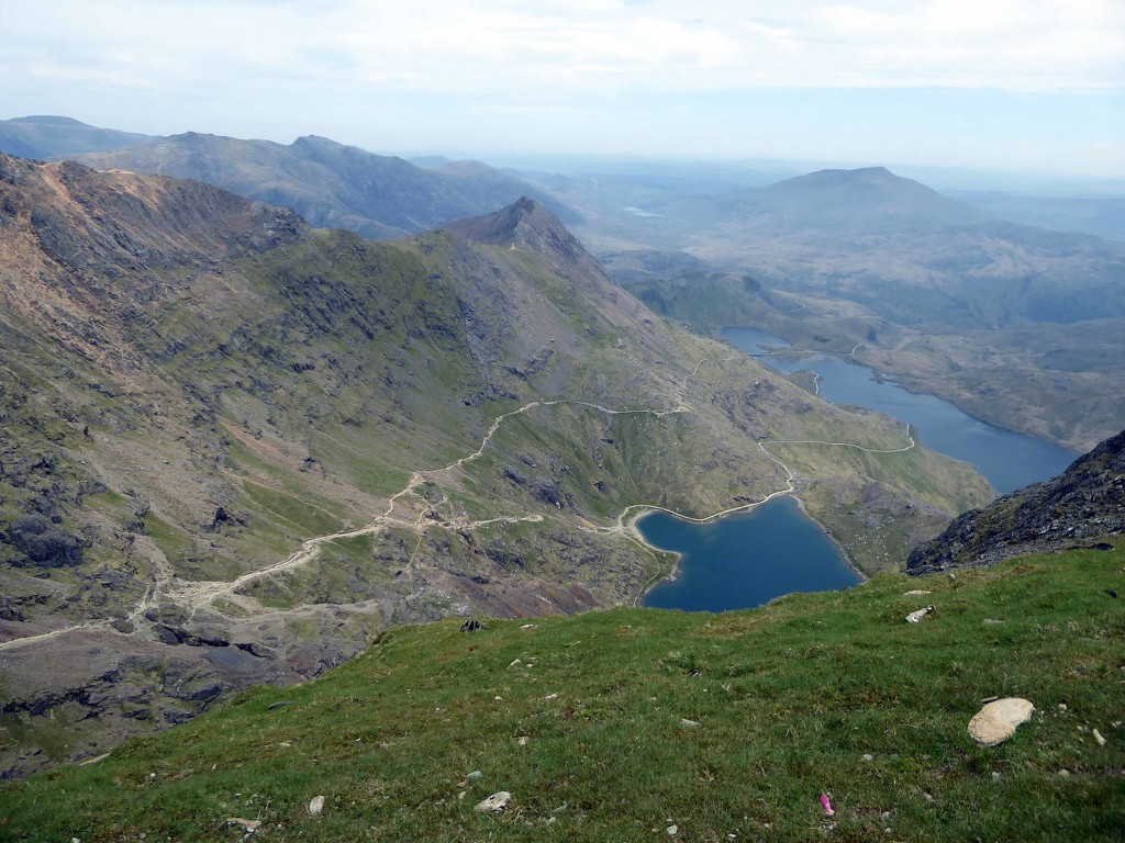 Walked up Snowdon today! by cmp