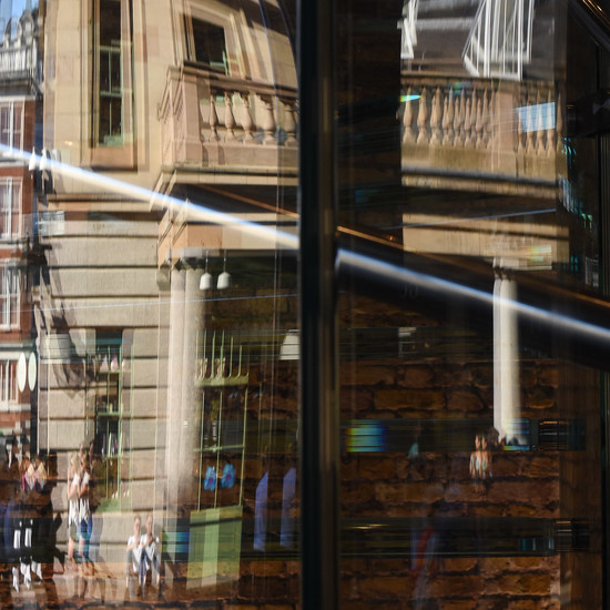 Half & half - Split reflection by helenm2016