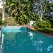 half pool half garden