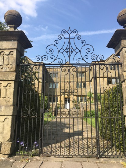 Through the gates to Eyam Hall by angiedanielle24