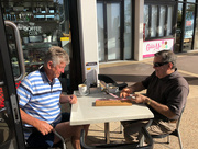 21st May 2018 - scene at the local coffee shop in Coolum