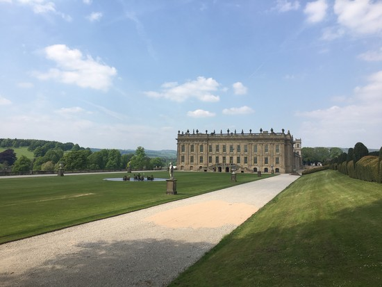 Chatsworth House, Derbyshire  by angiedanielle24