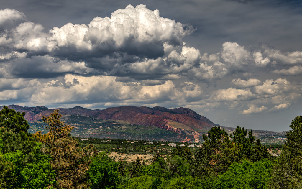 Foothills above Colorado Springs by taffy
