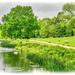 Pastoral Scene,Stowe Gardens