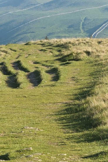 Ridges along Dales way by helenhall