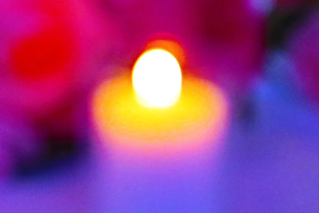 Abstract Candle by april16