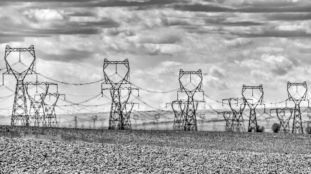 Pylons Go Marching by taffy