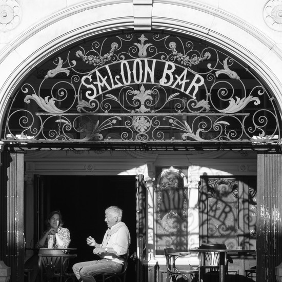 Half & half - Saloon bar by helenm2016