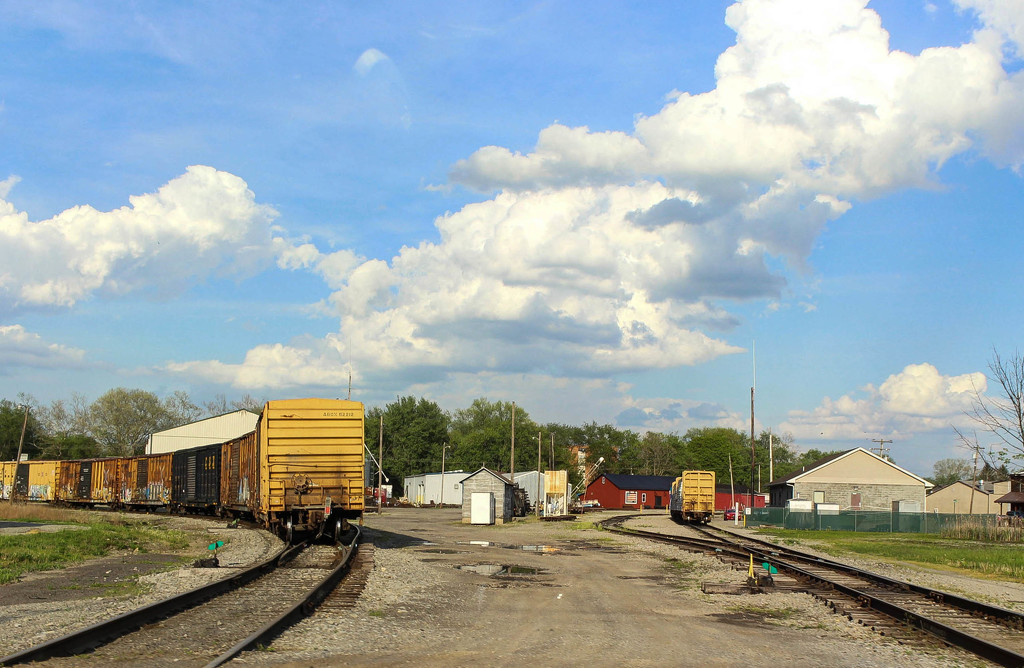 Railroad cars by mittens