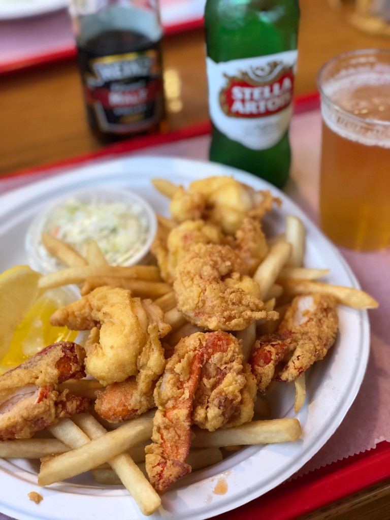 Fried Lobster, first of the season by berelaxed