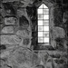 Chapel Window at Columcile by olivetreeann