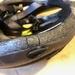 Cracked Bicycle Helmet