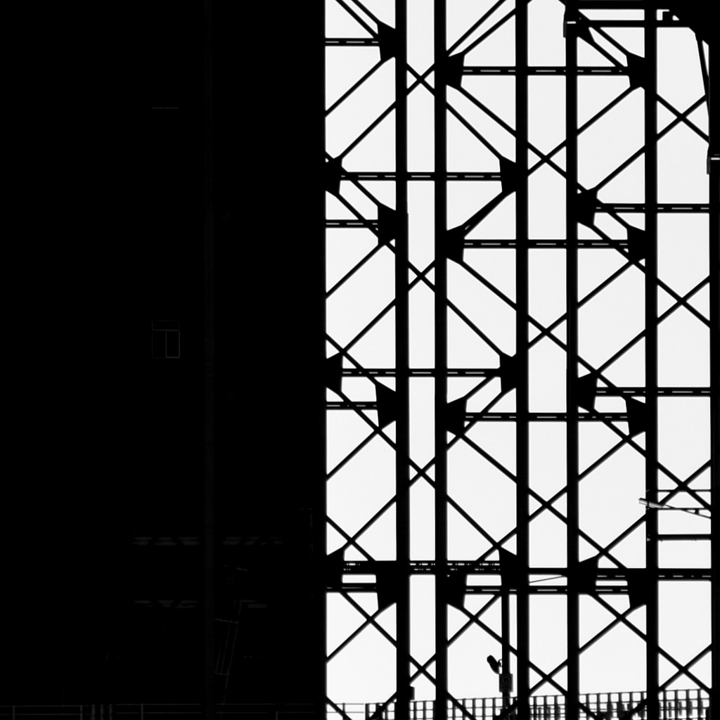 Black And White Shapes.._DSC9951 by merrelyn