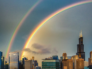 30th May 2018 - Double Rainbow Over Chicago