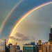 Double Rainbow Over Chicago by taffy
