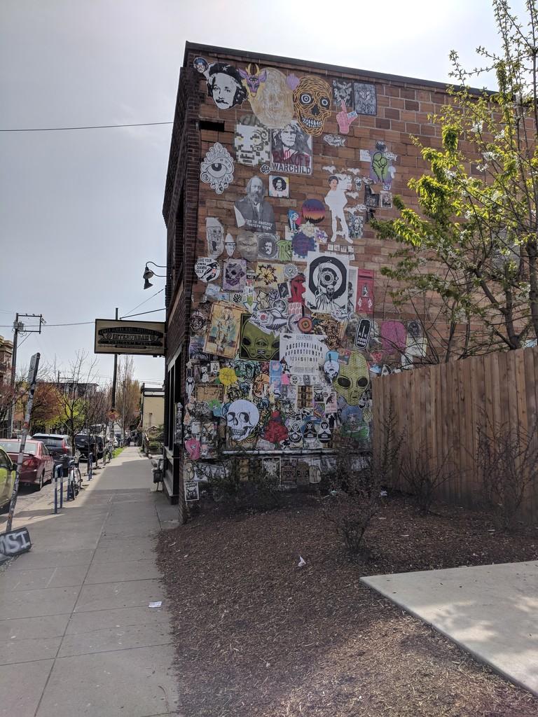 Portland Street Mural by bambilee