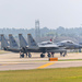 Lakenheath, 175 & 176 return together