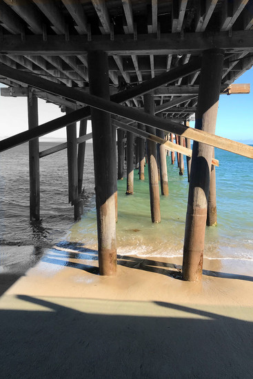 Under the Pier by jaybutterfield