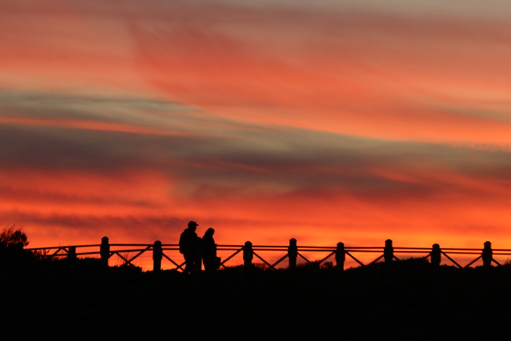 Strolling in the sunset by gilbertwood