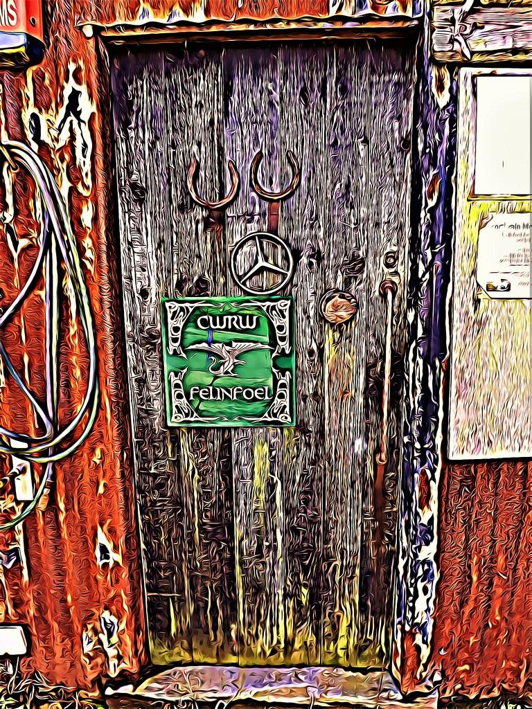 Doorway to the Beer Garden by ajisaac