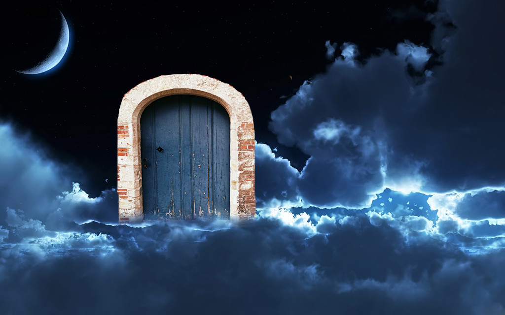 Door into the night by stiggle
