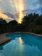 3rd Jun 2018 - The sunset last evening