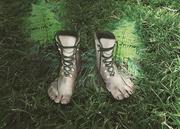 3rd Jun 2018 - Hiking Feet
