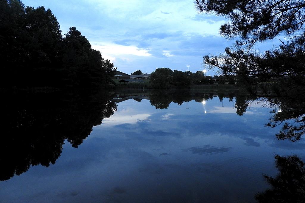 Blue Lake by homeschoolmom