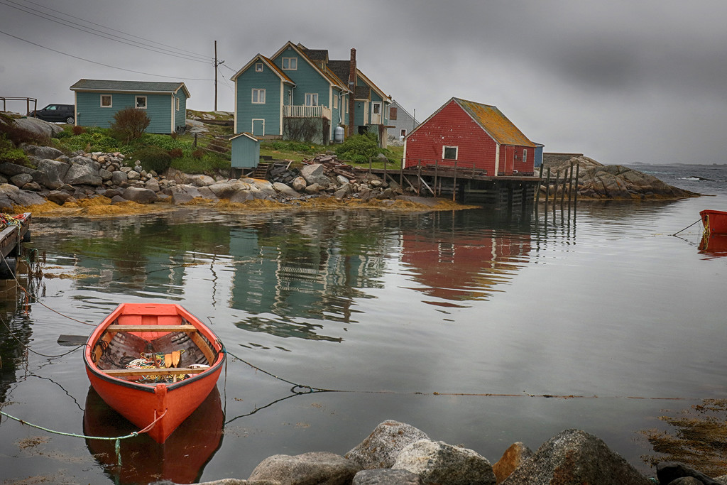 Peggys Cove Fishing Village by pdulis