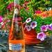 The Rose wine bottle