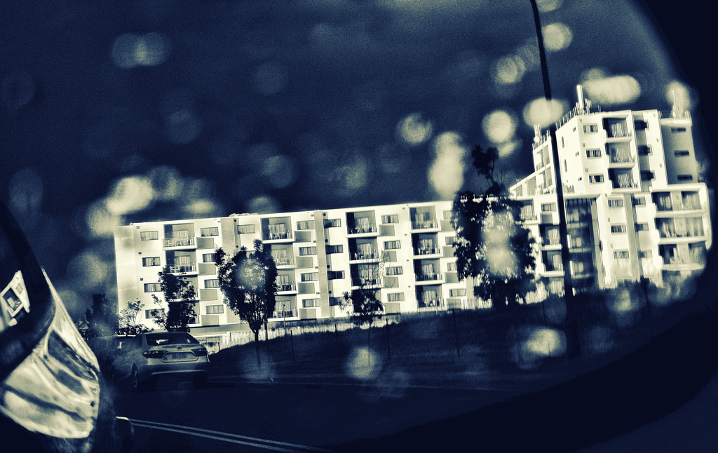 afternoon light and the rain falls by annied