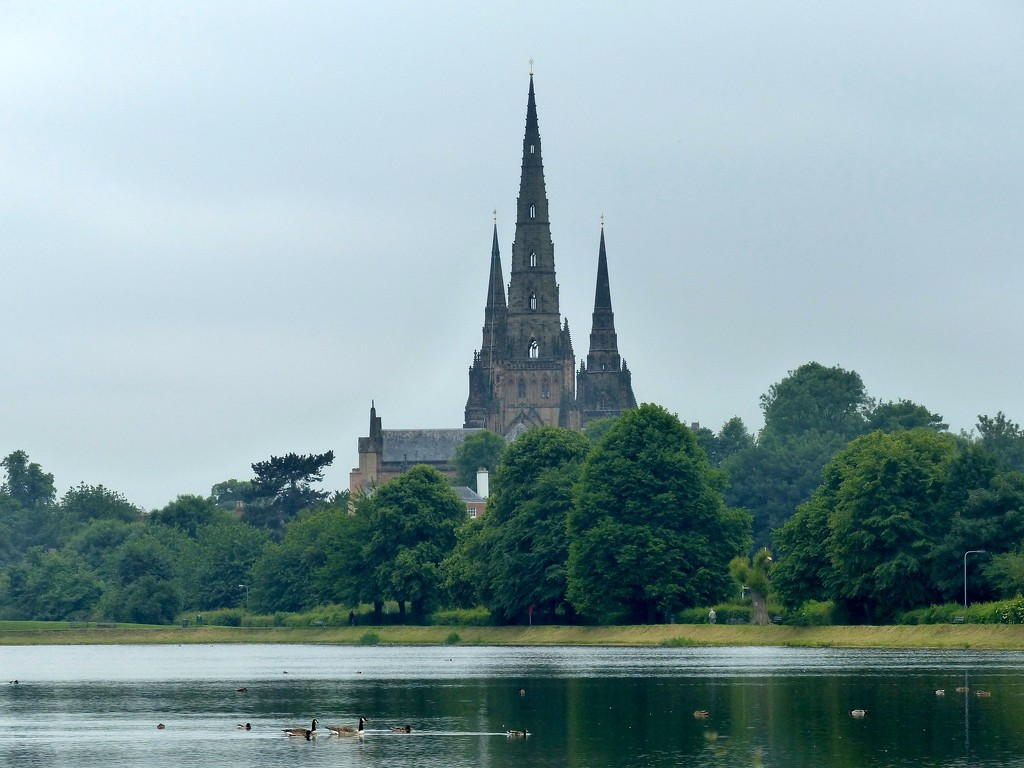 Lichfield Cathedral  by foxes37