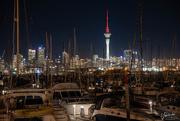 8th Jun 2018 - Westhaven Marina at Night