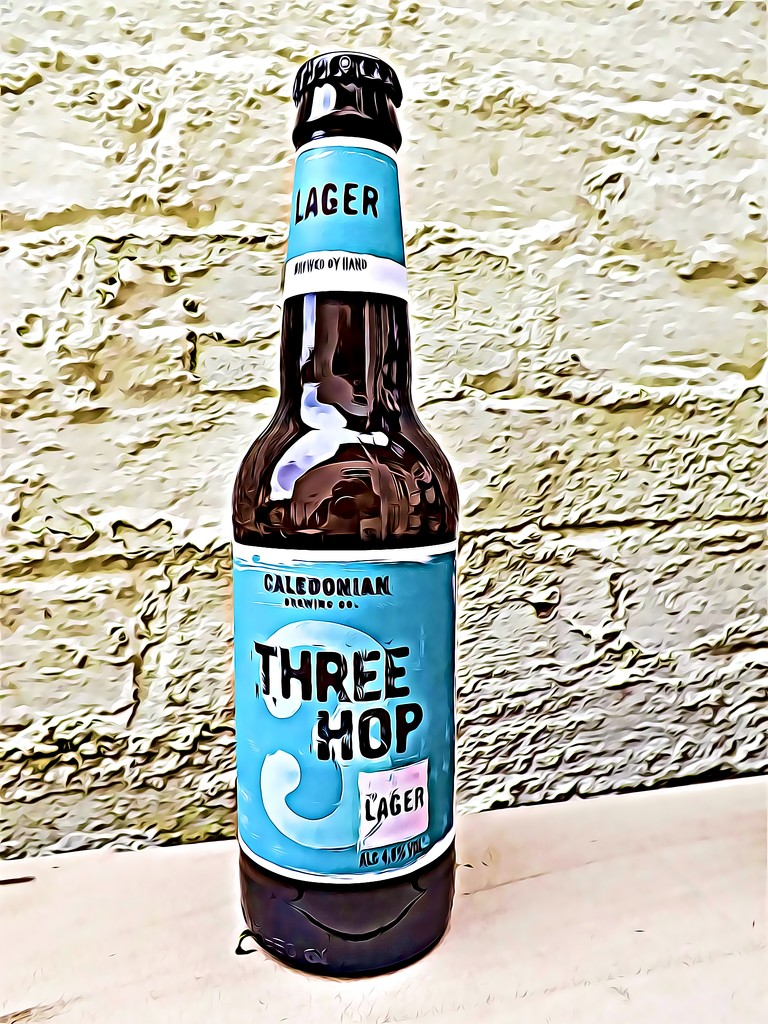 Three Hop Lager by ajisaac