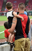 9th Jun 2018 - Daddy Took Him Out to the Ballgame
