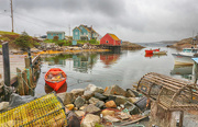 9th Jun 2018 - Peggys Cove Lobster Traps