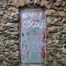 A very old door.