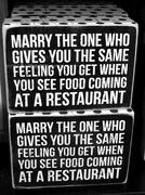 10th Jun 2018 - Good marriage advice! LOL!