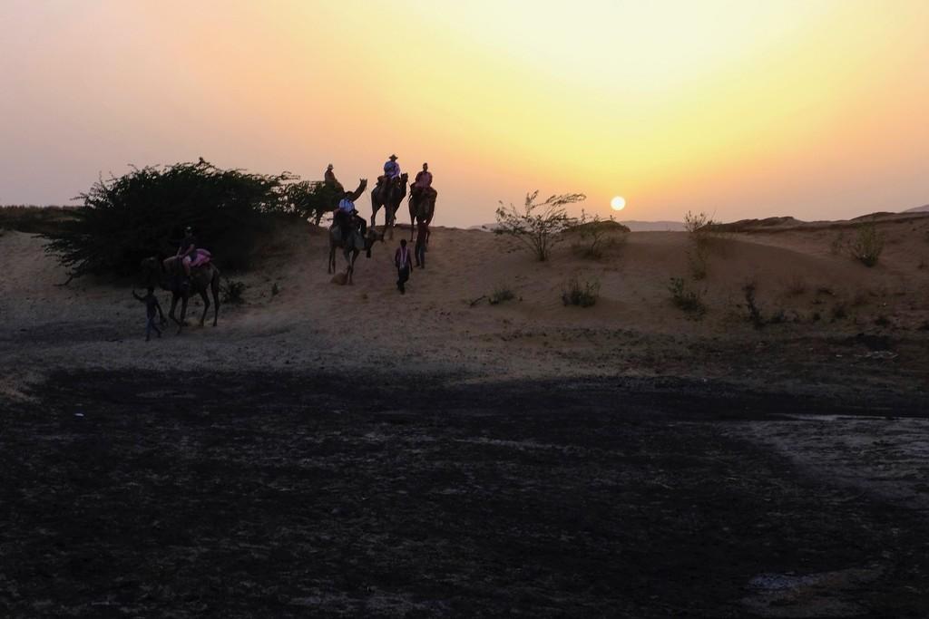 Riding into the sunset by dkbarnett
